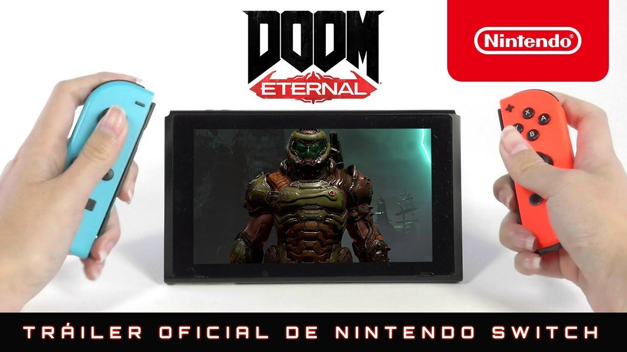 ¡No dejéis títere con cabeza a partir del 8 de diciembre! – DOOM Eternal (Nintendo Switch)