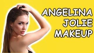 Голливудский макияж Анджелины Джоли. (Angelina Jolie) Татьяна Владимирова