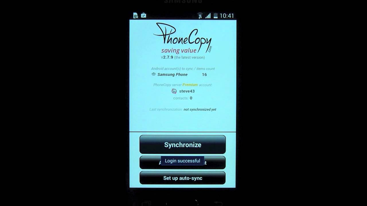 PhoneCopy for Android