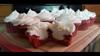 How to make Red Velvet Cupcakes from scratch