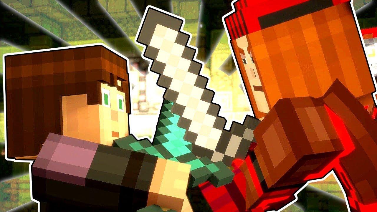 Petra Fights Jesse Minecraft Story Mode Season 2 Episode 3 2 Youtube