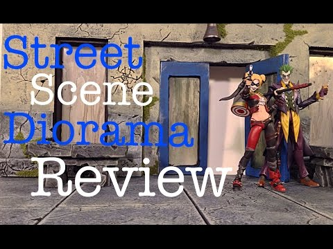 Custom Street Scene Diorama Review By Lawless Studios Dio Review