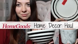Home Decor Haul 2017 Home goods Marshalls TJMaxx Spring Summer