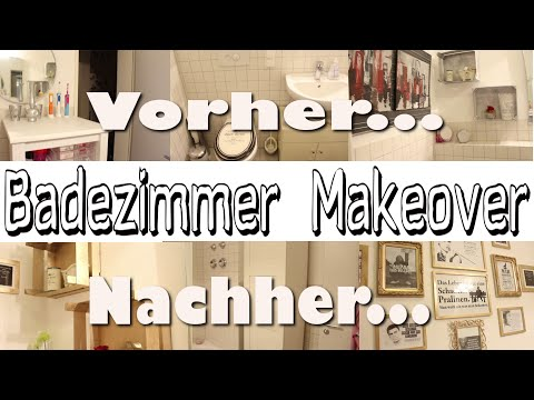 badezimmer makeover l deko und aufbewahrung doovi. Black Bedroom Furniture Sets. Home Design Ideas