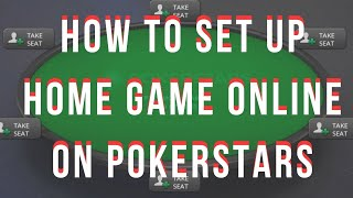 [GUIDE] How to Set Up Home Games Online on PokerStars