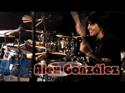 Alex Gonzalez - DW Collector's Series Maple/Mahogany Drums