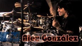 Alex Gonzalez - DW Collector's Series Maple/Mahogany Drums