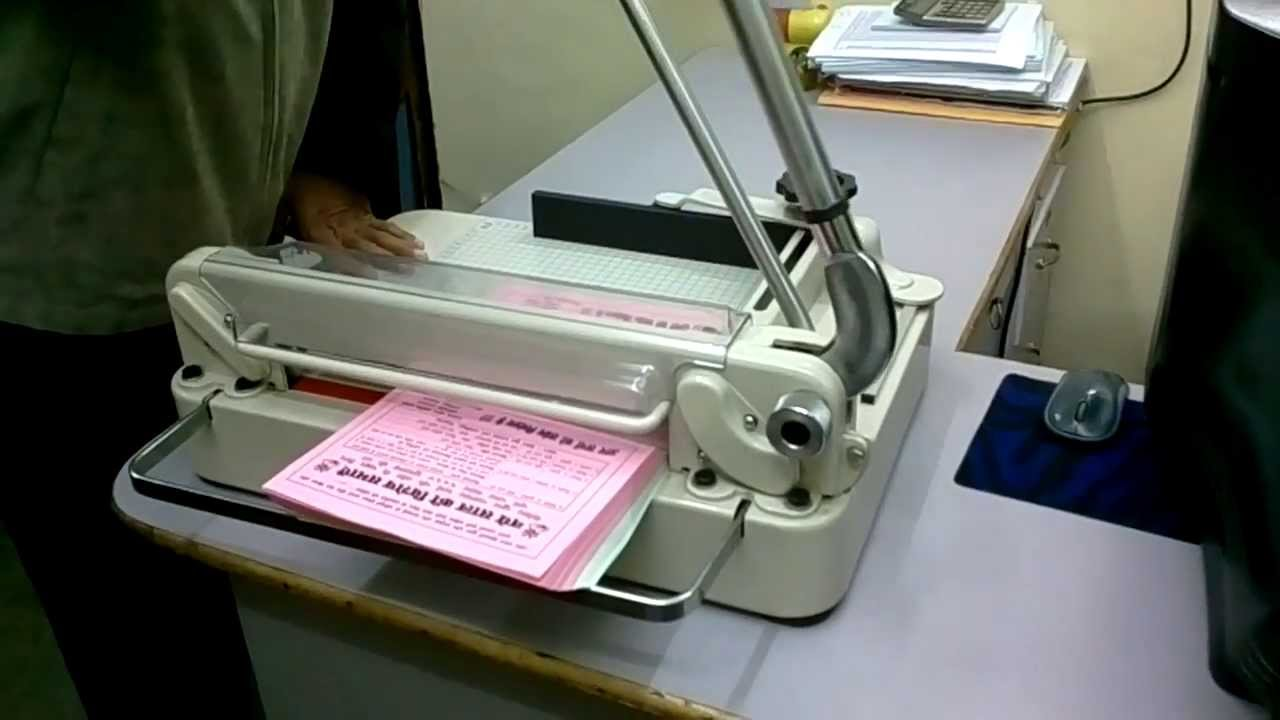 Papercraft Manual Paper Cutting Machine