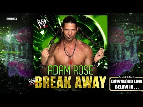 WWE: Break Away Adam Rose Theme Song + AE Arena Effect