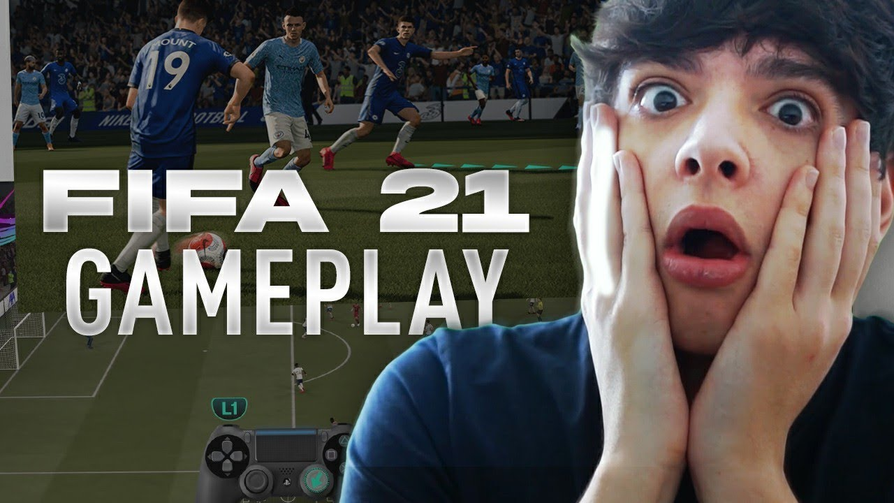 RIVOLUZIONE FIFA 21! GAMEPLAY REACTION (è fero)