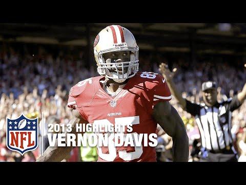 Vernon Davis Dominates Cardinals in 2013 (Week 6) | NFL