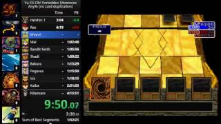 Yu-Gi-Oh! Forbidden Memories speedrun in 3:20:07