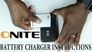 How to use the Onite® Spare Universal Wall Battery Charger