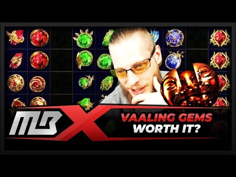 [PATH OF EXILE] – VAALING 50 GEMS – WORTH IT?