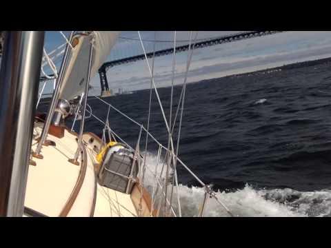 Tayana 37 sailing