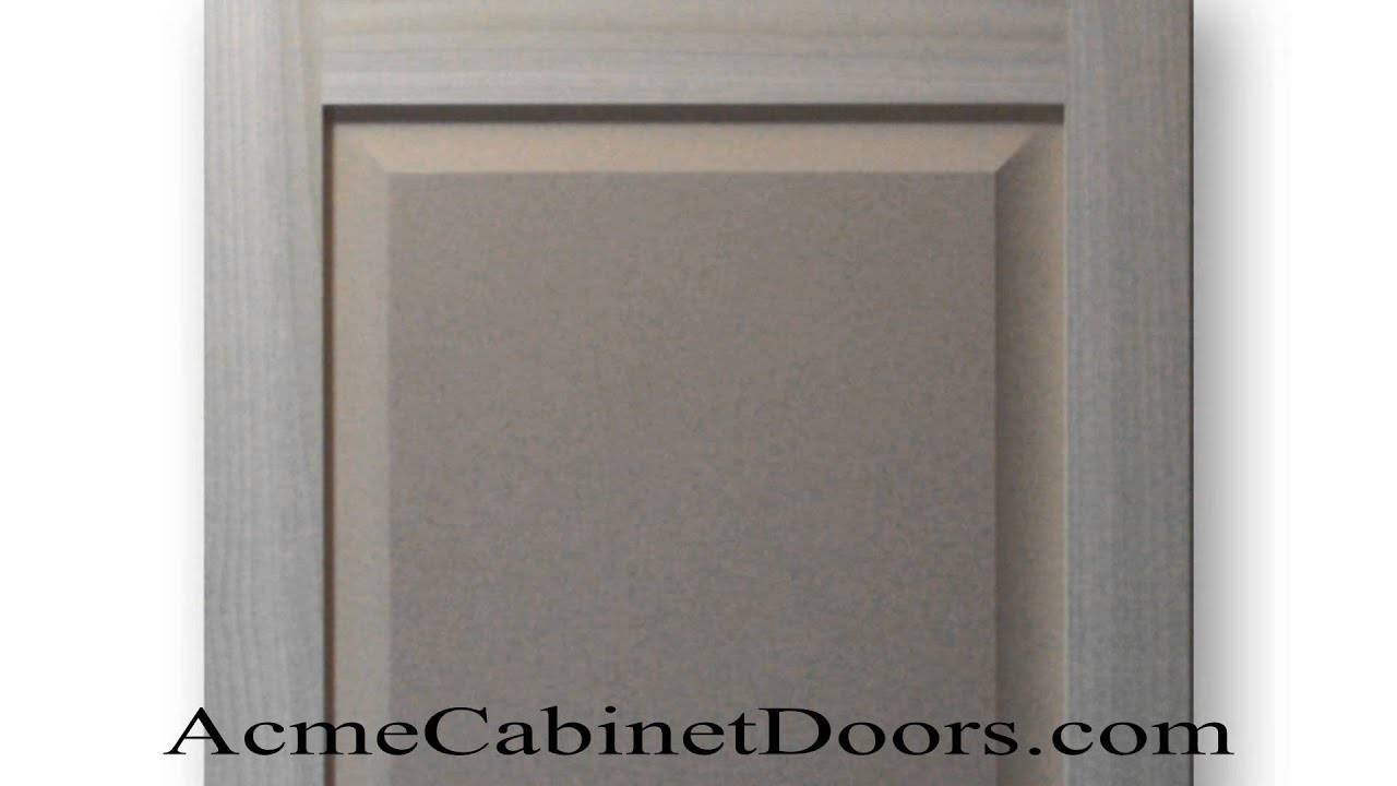 Paint Grade Shaker Raised Panel Cabinet Door Poplar Mdf Panel Youtube