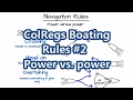 ColRegs Boating Rules #2 - Power vs. power | Sail Fanatics