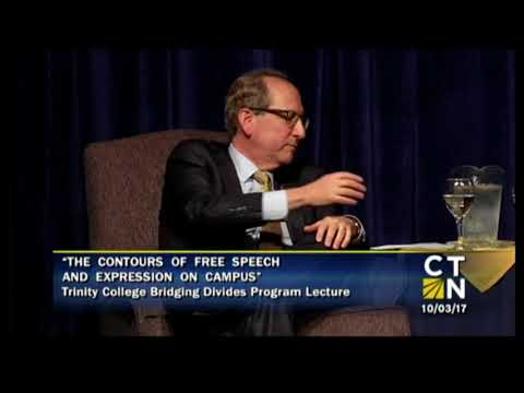 Frederick M. Lawrence, Secretary/CEO of PBK Discusses Free Expression at Trinity College. (Part Two)