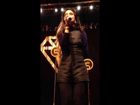queen of pop speaking