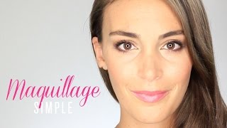 Tuto Maquillage Simple Yeux marrons, verts, bleus