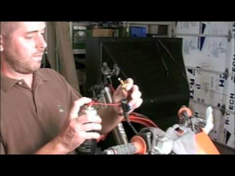 Motorcycle : Air filter / Lube Throttle