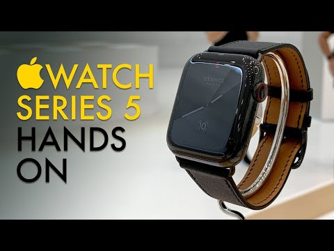 Apple Watch Series 5 Hands-on: That Always-on Display Is Long Overdue