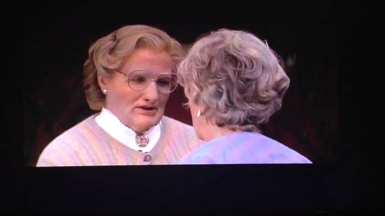 Mrs Doubtfire Deleted Scene Youtube