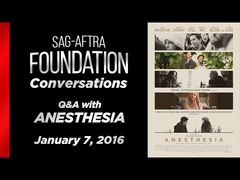 Conversations with Tim Blake Nelson and Sam Waterston of ANESTHESIA