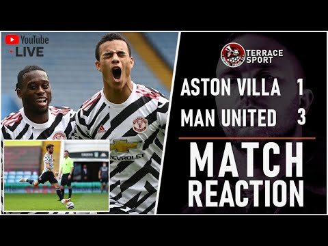 RECORD BREAKING MASON GREENWOOD | Aston Villa 1-3 Manchester United Match Reaction