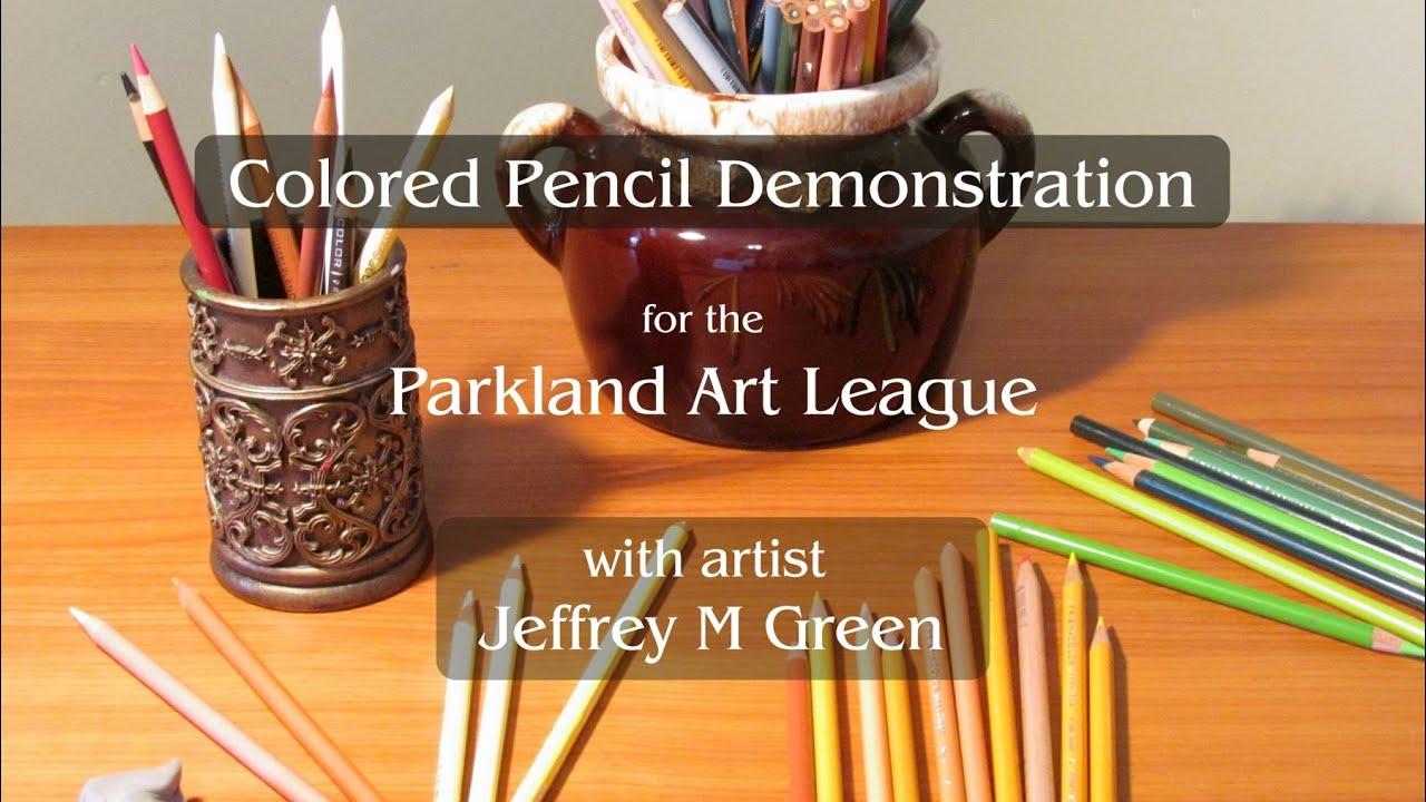 Colored Pencil Demonstration for the Parkland Art League