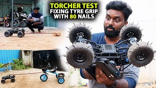 RC Monster Truck Torture Test | Replacing Tyre With 80 Nails