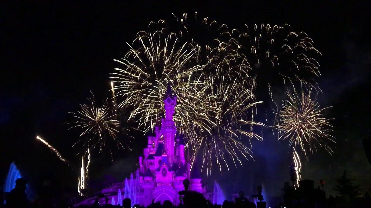Le Feu D Artifice Du Nouvel An Disneyland Paris 2018