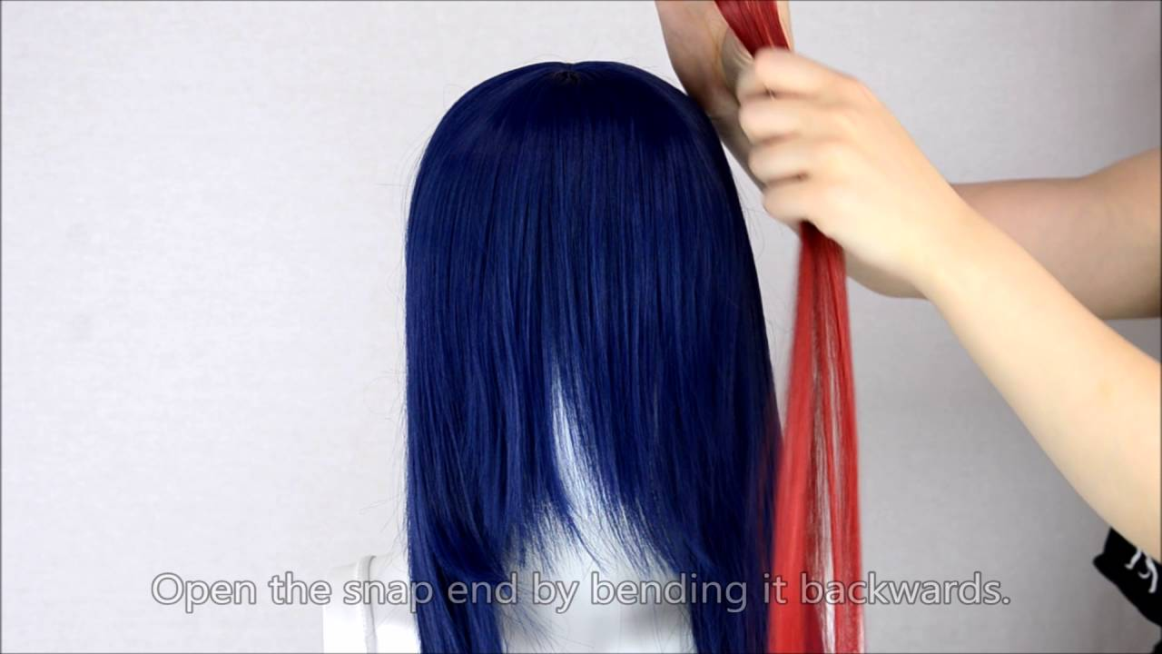 Clip-in Extension by EpicCosplay Wigs - YouTube b0ef27912
