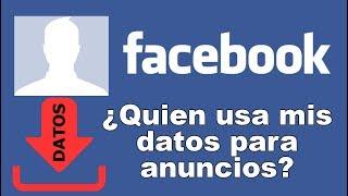 Como descargar tus datos de #Facebook ¿Se usa para anuncios? (Nuevo método)