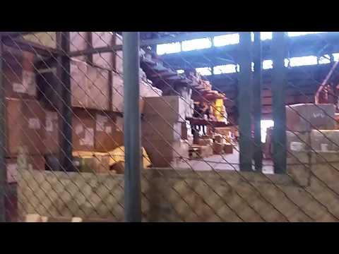 Inside TIA customs (Import Division)