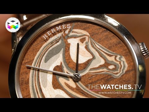 The Art Of Micro Wood Marquetry For Watch Dials With Hermès