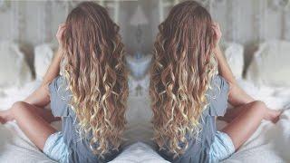 no heat loose curls tutorial   bloopers