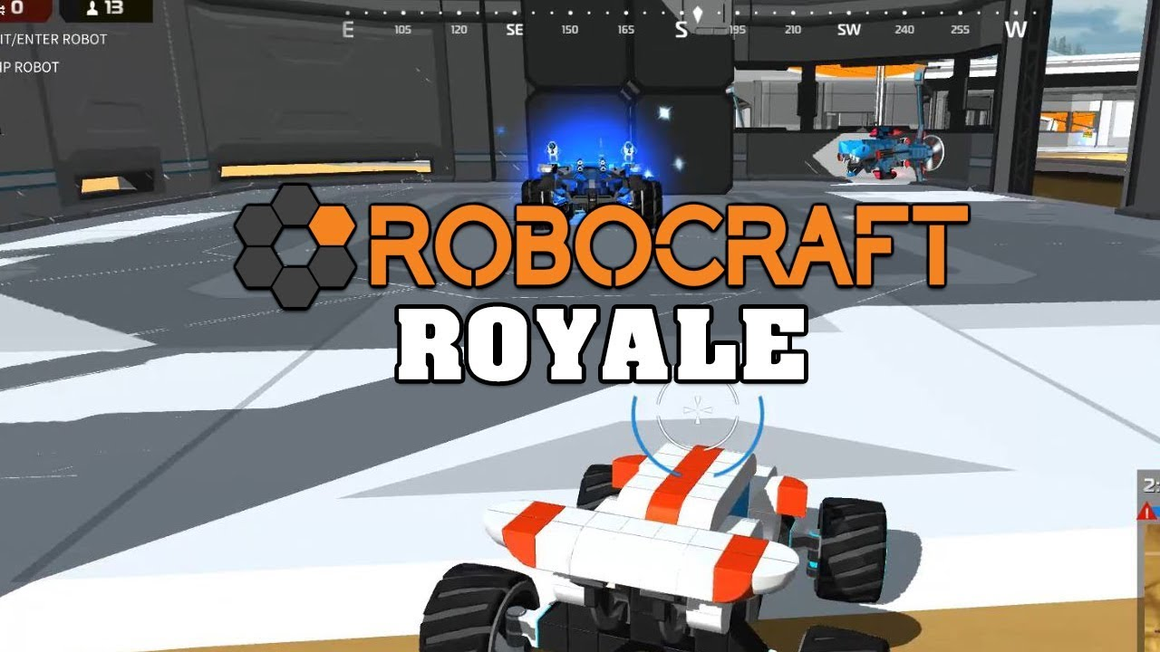 Robocraft Royale - A lame first attempt - YouTube