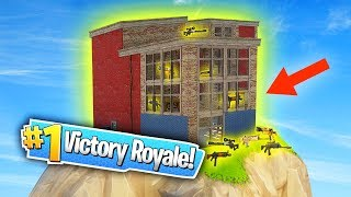 SECRET LEGENDARY LOOT SPOT IN NEW MAP DLC! (Fortnite: Battle Royale)