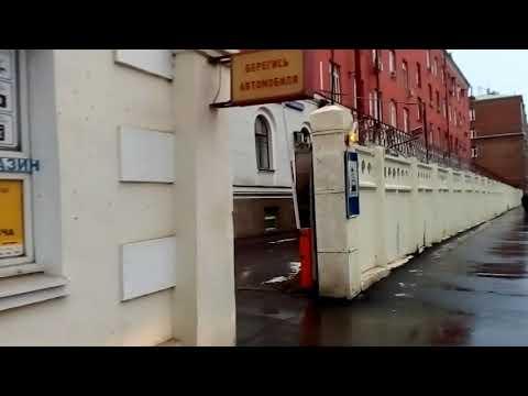 Москва 1469 Бойцовая улица зима день
