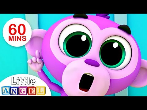 'No No' Good Manners Song, Jungle Animals Peek-a-Boo, Itsy Bitsy & more Kids Songs by Little Angel