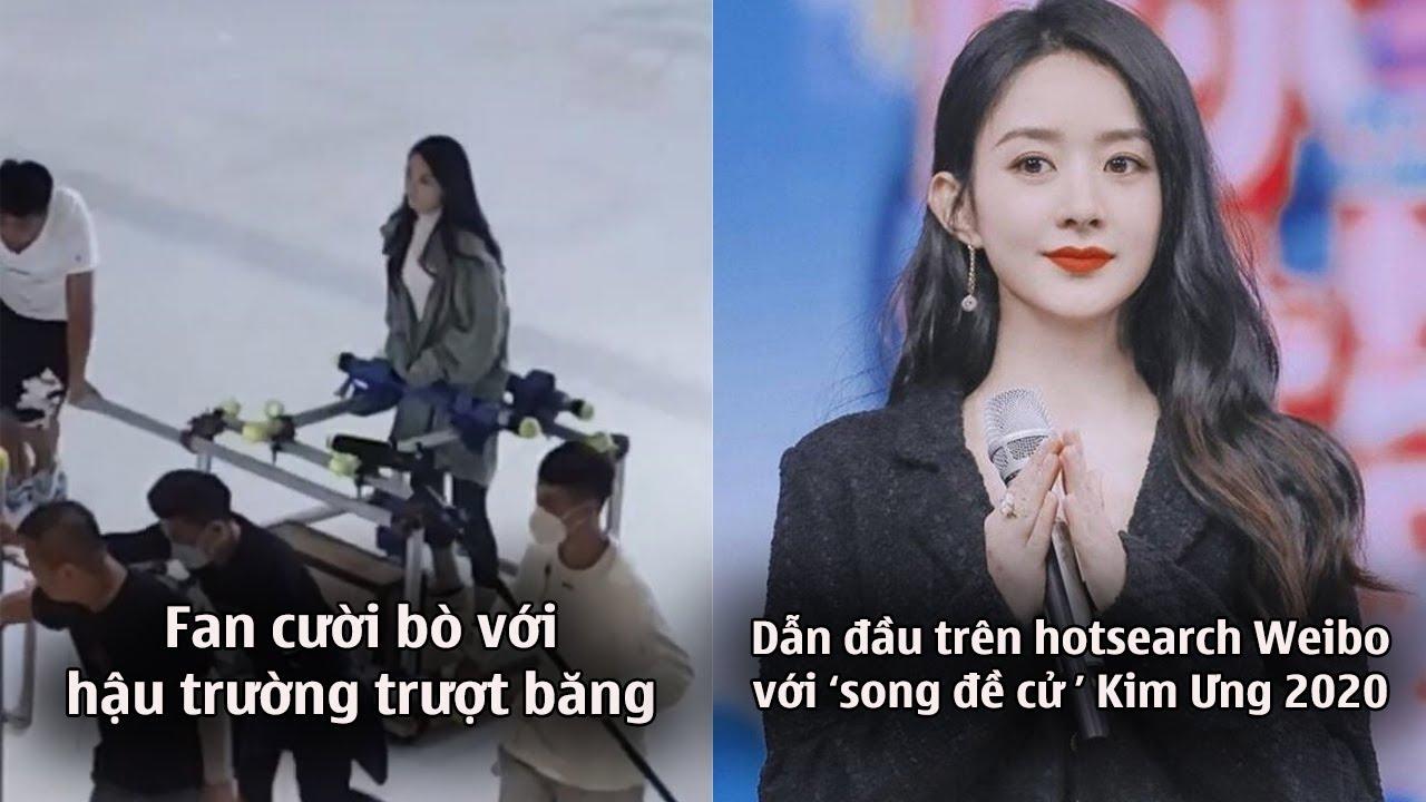 Fan cười bò với Triệu Lệ Dĩnh trượt băng trong phim mới,được 'song đề cử' Kim Ưng 2020