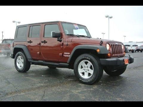 2010 jeep wrangler unlimited sport for sale dayton troy piqua sidney ohio 27302at youtube. Black Bedroom Furniture Sets. Home Design Ideas