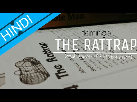Detailed Summary   The Rattrap   Flamingo   Chapter 4   Class 12th