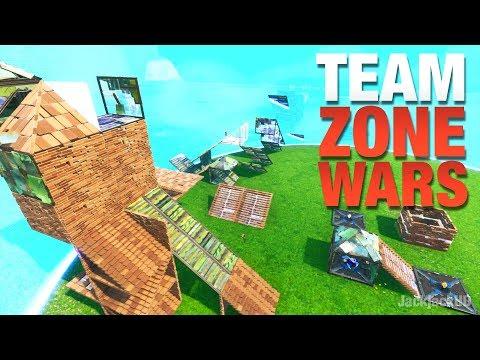*NEW* TEAM ZONE WARS By JackjackHD | Fortnite Creative Mode