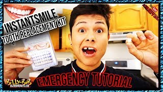 Instant Smile Tooth Replacement Kit Tutorial   LOOKS SO REAL