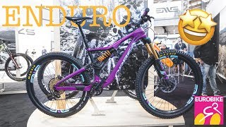 best ENDURO BIKES for 2019 from the EUROBIKE 2018 in detail [4K]