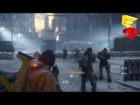 Tom Clancy's The Division Multiplayer Gameplay Trailer - E3 2015 (PC, Xbox One, PS4)