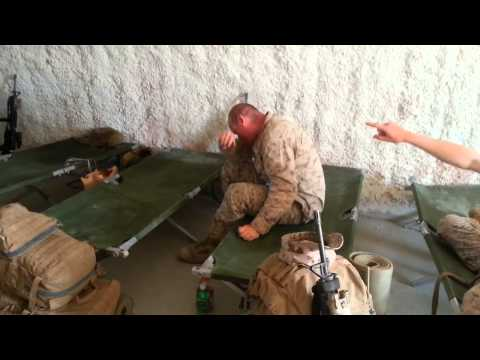 Don't fall asleep around Marines.