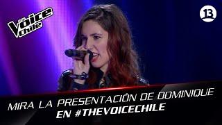 The Voice Chile | Dominique Gerdes - You oughta know